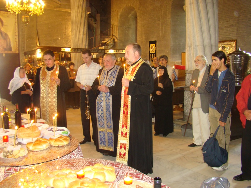 Slujba de pomenire la biserica Sf. Gheorghe