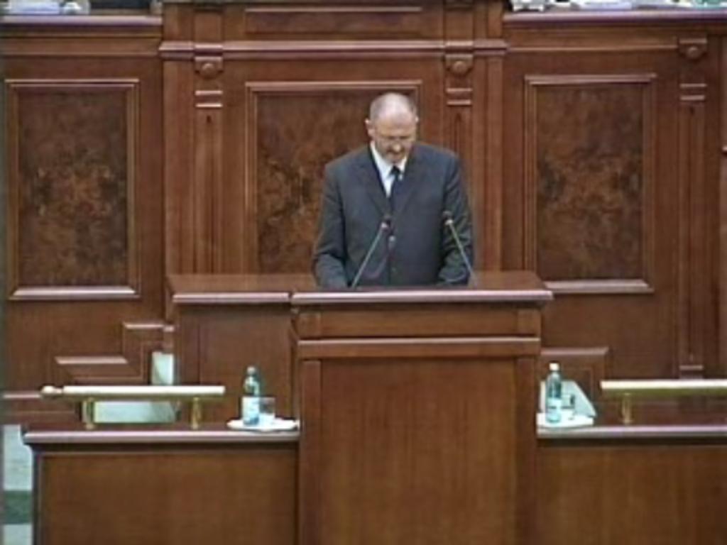 Ioan Alexandru evocat de senatorul Orest Onofrei