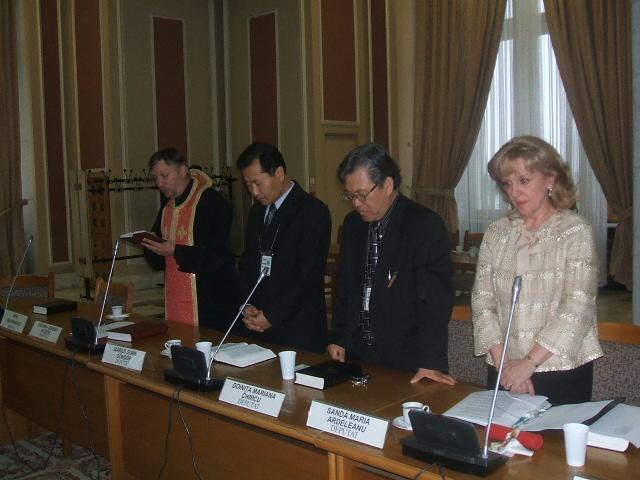 Comemorare la Grupul ecumenic din Parlament